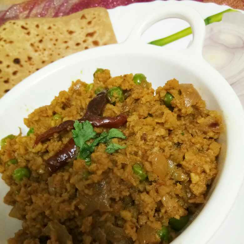 How to make Soya Keema(सोया कीमा)