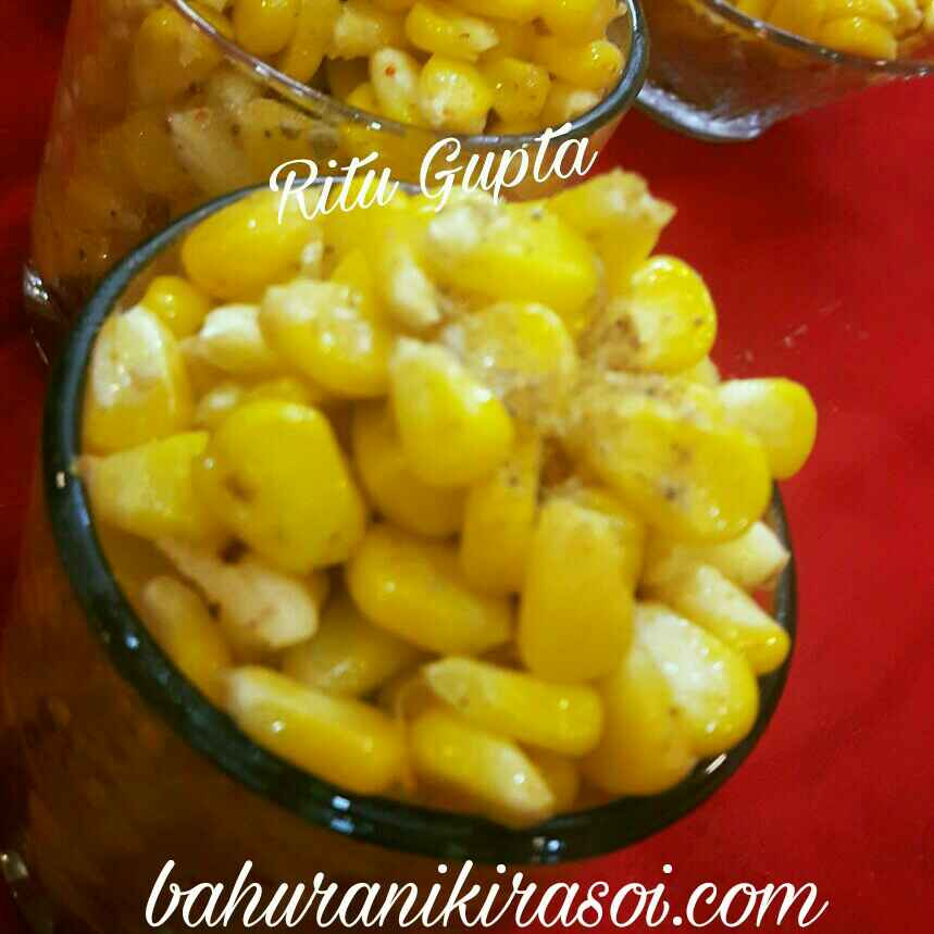 How to make Masala sweet corn