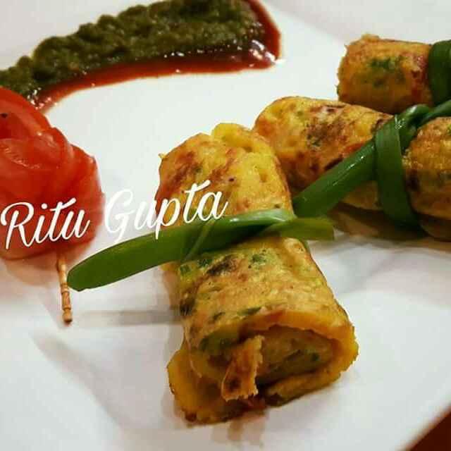 Photo of Vegetable pan cake by Ritu Gupta at BetterButter