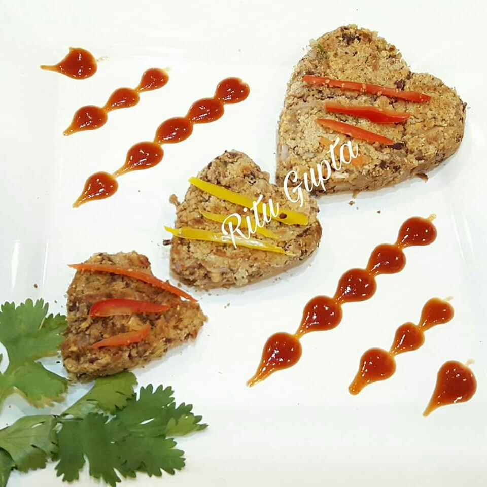 Photo of Kidney beans cutlet( fat free) by Ritu Gupta at BetterButter