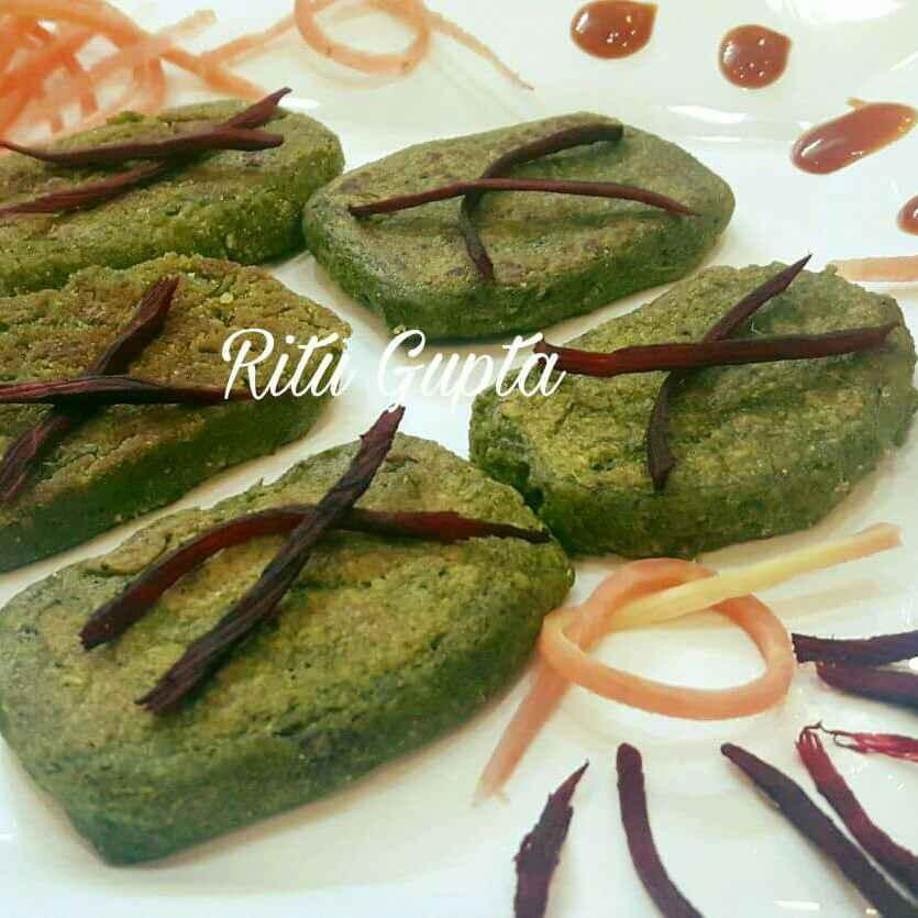 Photo of Green oats kabab by Ritu Gupta at BetterButter