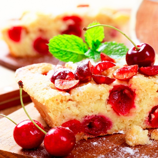 How to make Cherry Cake