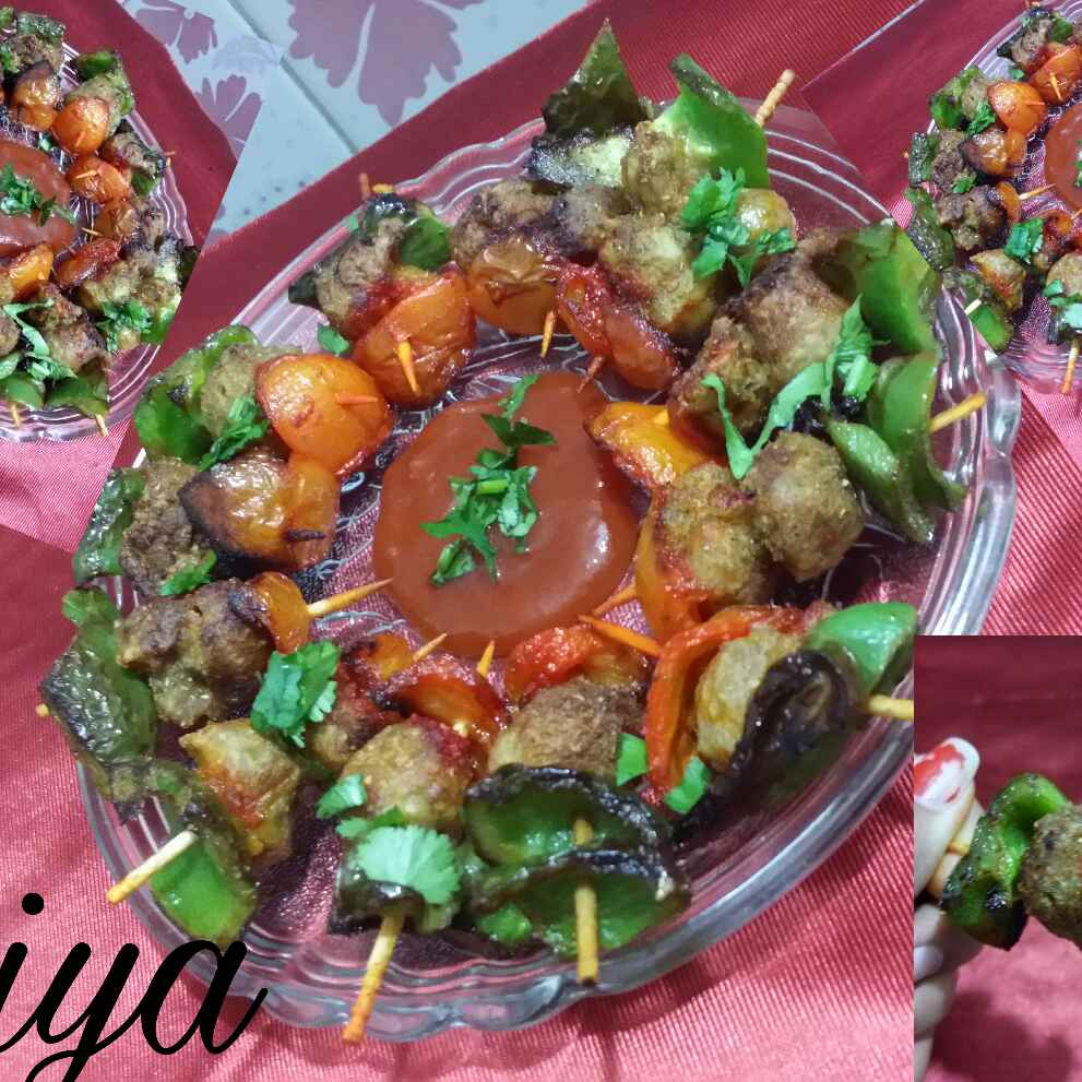 How to make Soya tikka