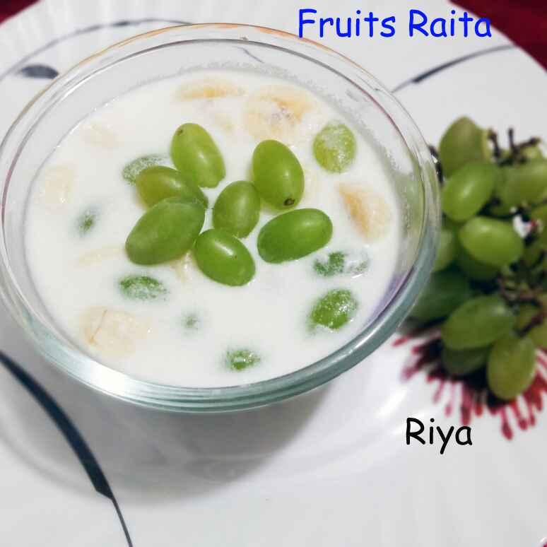 Photo of Fruits curd raita by Riya Dhiman at BetterButter