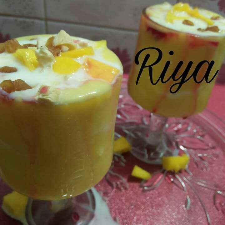 Photo of Mango mastani by Riya Dhiman at BetterButter