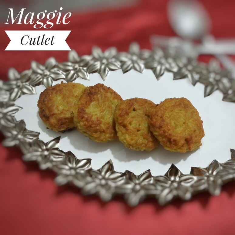 How to make Maggi cutlet