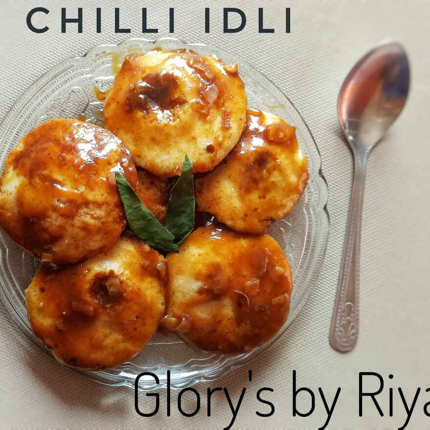 How to make Chili idli (leftover idli )