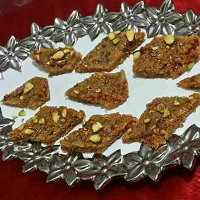 How to make Chay se bani mithai