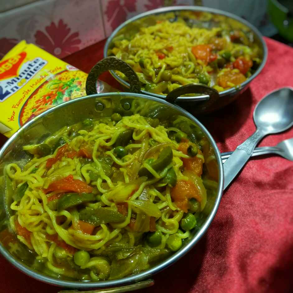 How to make Masala maggie