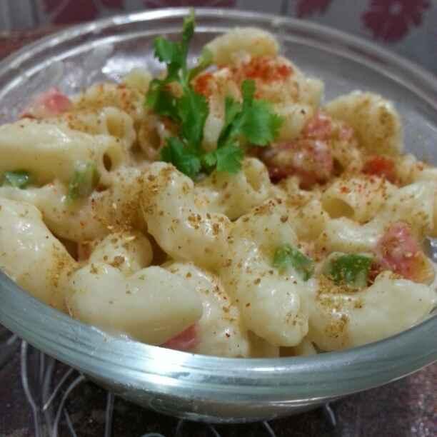How to make White  sauce pasta