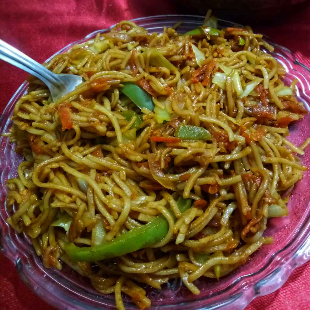 How to make वेज चाउमीन