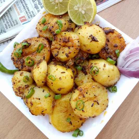 How to make Aalu Gutka