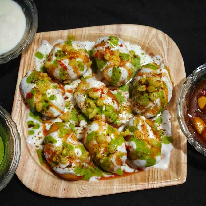 Photo of Dahi Puri by Riya Dhiman at BetterButter