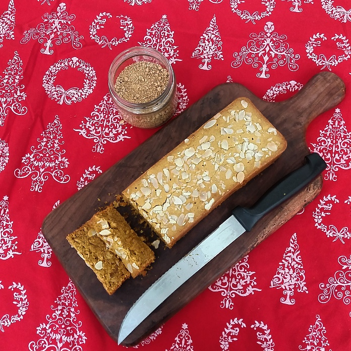 How to make Almond and Jaggery Loaf