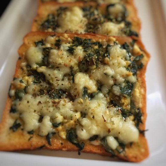 Photo of Spinach Cheese Toast by Riya Rughwani at BetterButter