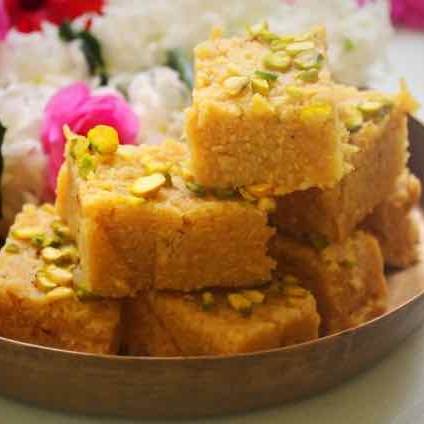 How to make Sev Burfi