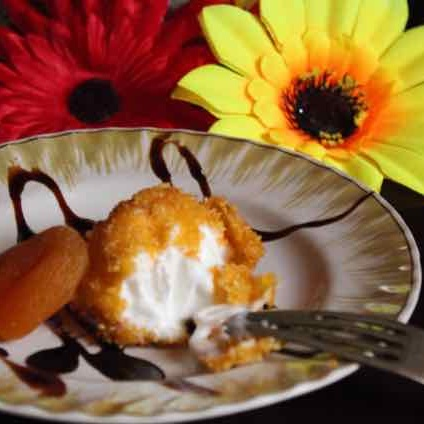 How to make Fried Ice Cream or Ice Cream Pakoda