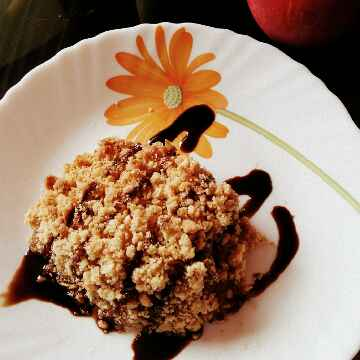 Photo of Apple n Pear Crumble by Riya Singh at BetterButter