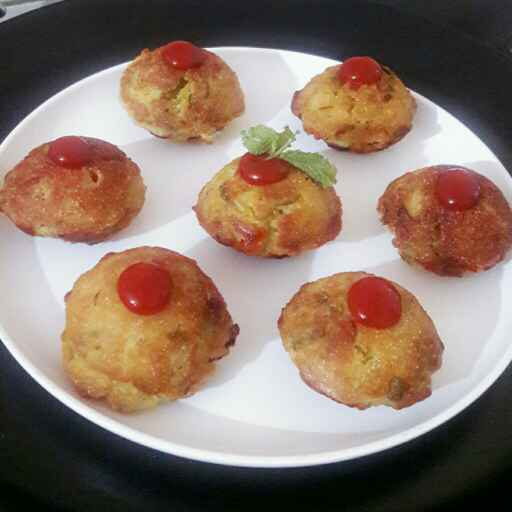 Photo of Paneer veggies appe by Riya Singh at BetterButter