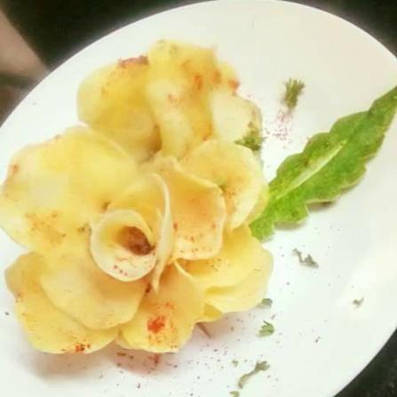 Photo of Fried sweet potato rose by Sree Vaishnavi at BetterButter