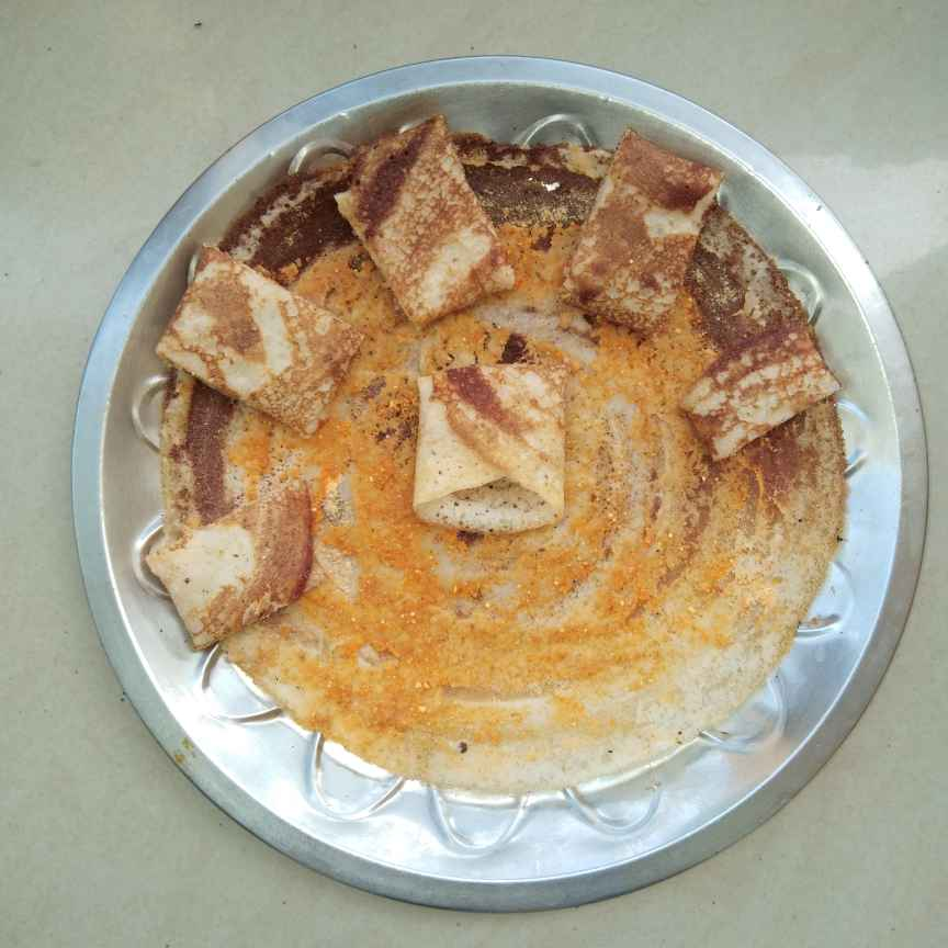 How to make పొడి దోస