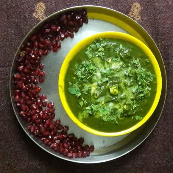 How to make పాలక్ పనీర్