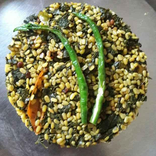 Photo of Ponnagantikoora moongdal fry by Sree Vaishnavi at BetterButter