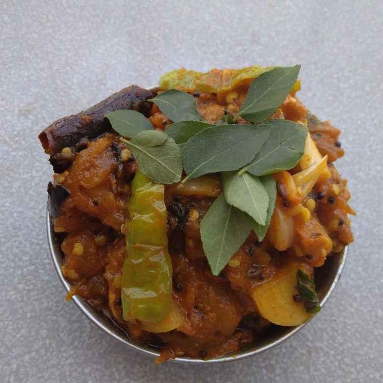 How to make టమాటా ఉల్లిపాయ కూర