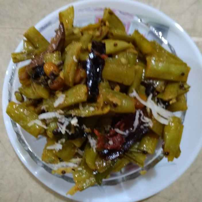 Photo of Cluster beans curry by Sree Vaishnavi at BetterButter