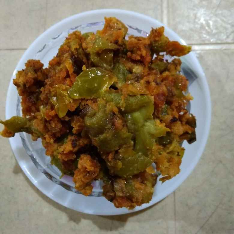 Photo of Capsicum Bengal gram curry by Sree Vaishnavi at BetterButter