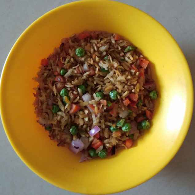 Photo of Simple rangeen dry snack by Sree Vaishnavi at BetterButter