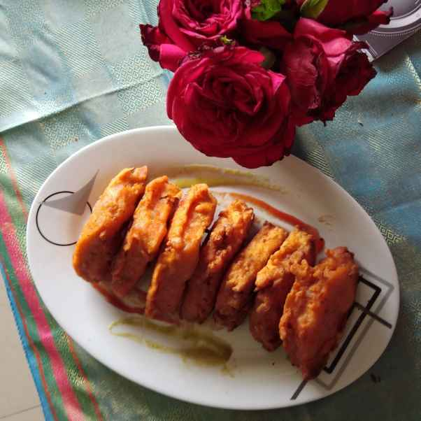 Photo of Aloo bread bajji by Sree Vaishnavi at BetterButter