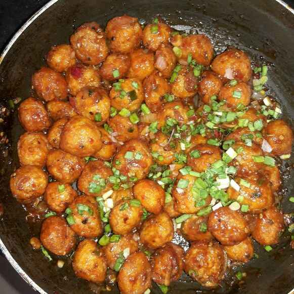 How to make Meal maker Manchurian