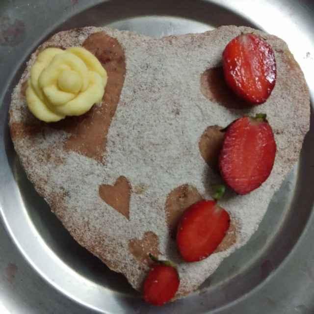 How to make స్ట్రాబెర్రీ మిల్క్ కేక్