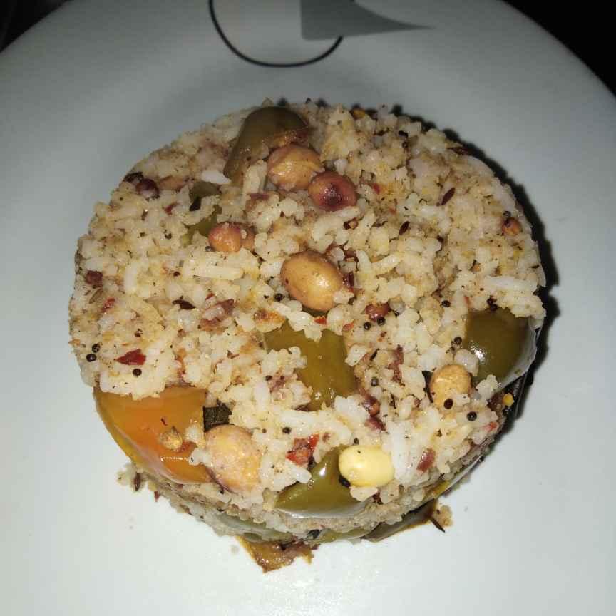 Photo of Peanut capsicum rice by Sree Vaishnavi at BetterButter