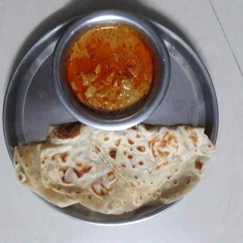 Photo of Roti with aloo kurma by Sree Vaishnavi at BetterButter