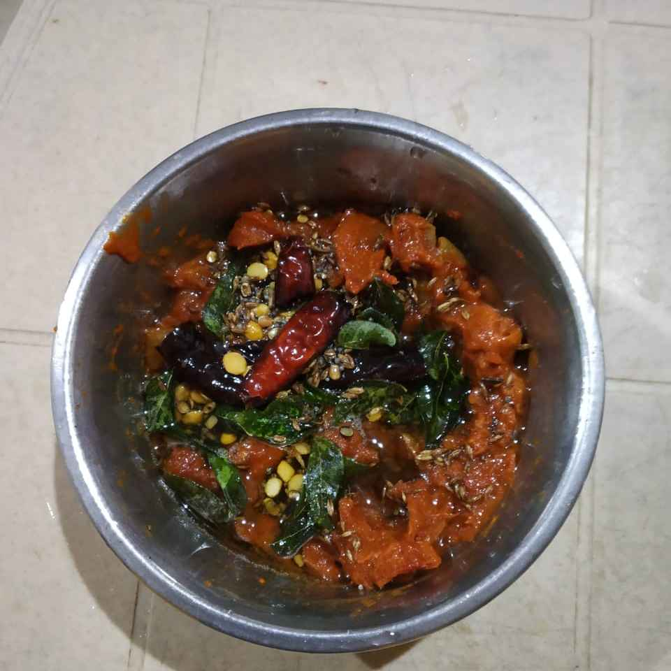 Photo of Instant tomato pickle by Sree Vaishnavi at BetterButter