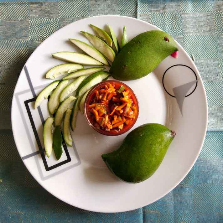 Photo of Instant mango pickle by Sree Vaishnavi at BetterButter