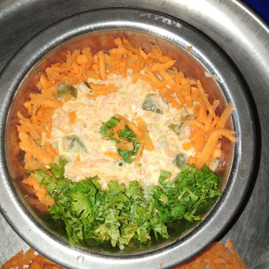 Photo of Carrot capsicum curd chutney by Sree Vaishnavi at BetterButter
