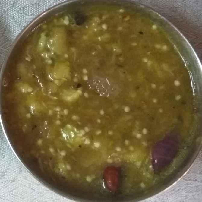 Photo of Vankaya vadiyala pulusu pachadi by Sree Vaishnavi at BetterButter