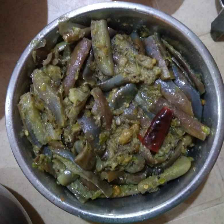 Photo of Brinjal coriander curry by Sree Vaishnavi at BetterButter