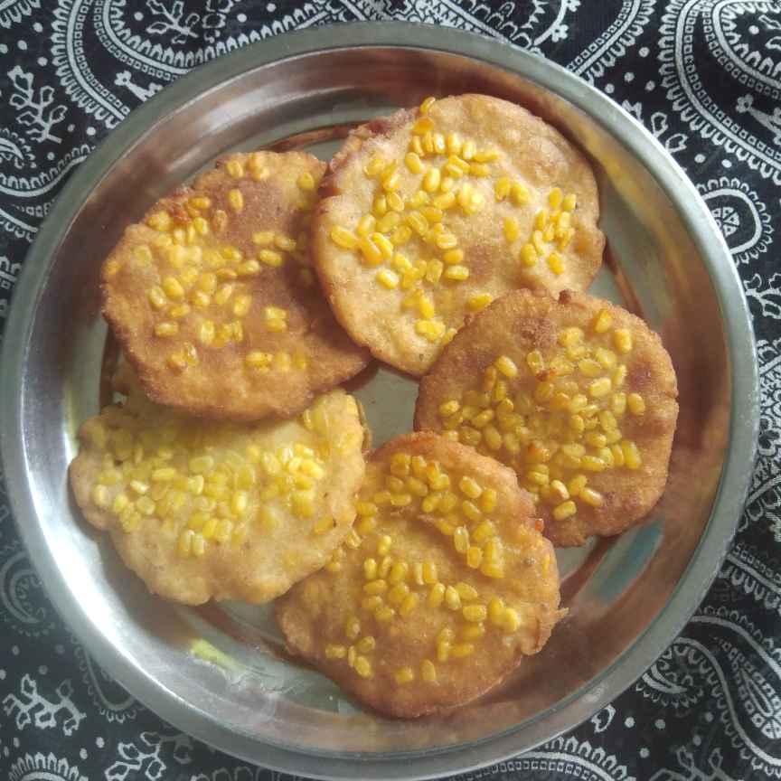 Photo of Moong dal vada by Sree Vaishnavi at BetterButter
