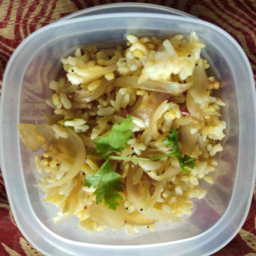 How to make Puffed rice upma