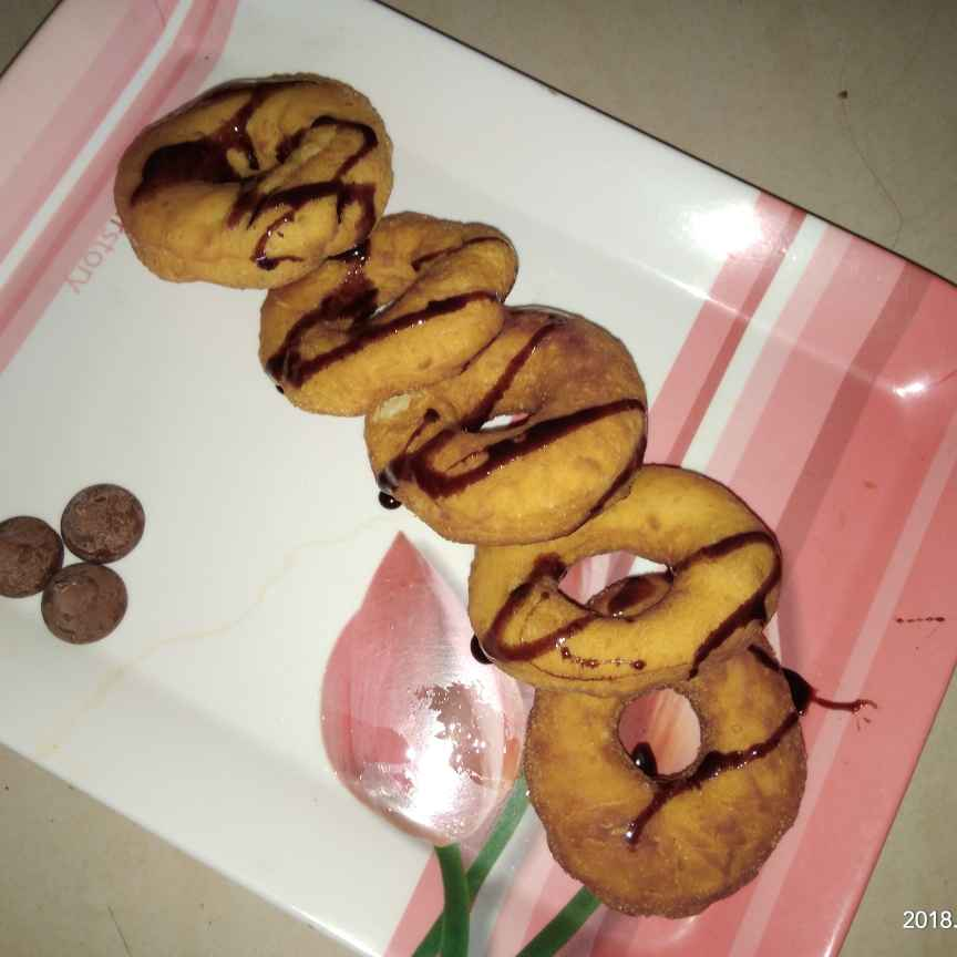 Photo of Eggless donuts by Sree Vaishnavi at BetterButter