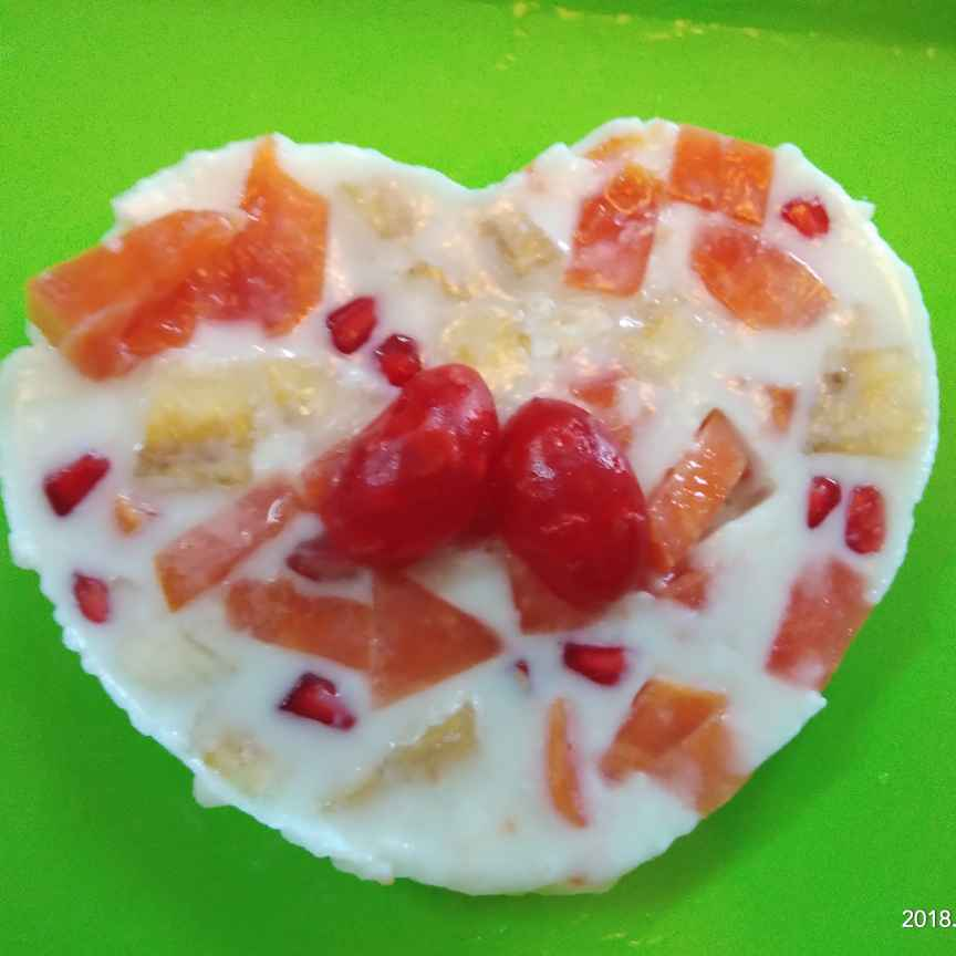 Photo of Milk fruit jelly by Sree Vaishnavi at BetterButter