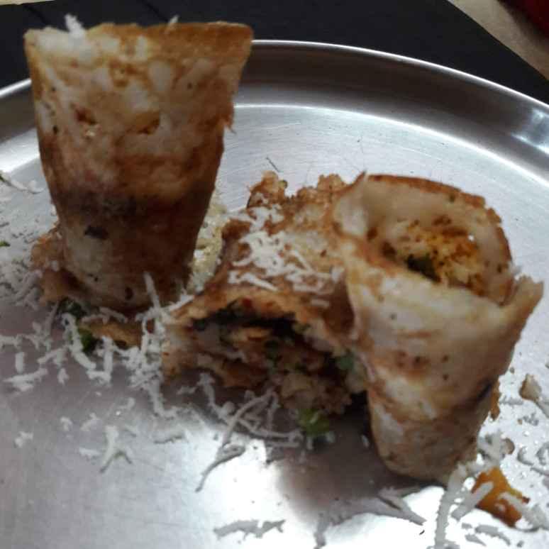 Photo of Veg peanut powder dosa roll by Sree Vaishnavi at BetterButter