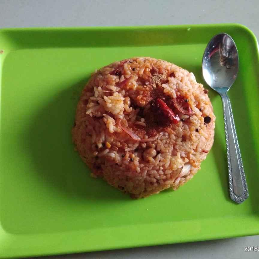How to make టమాటో రైస్