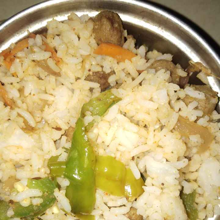 Photo of Meal maker fried rice by Sree Vaishnavi at BetterButter