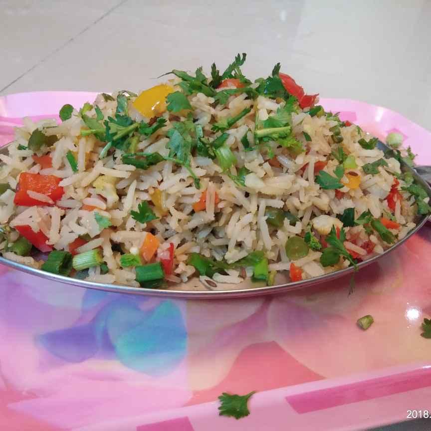 Photo of Brown veg fried rice by Sree Vaishnavi at BetterButter