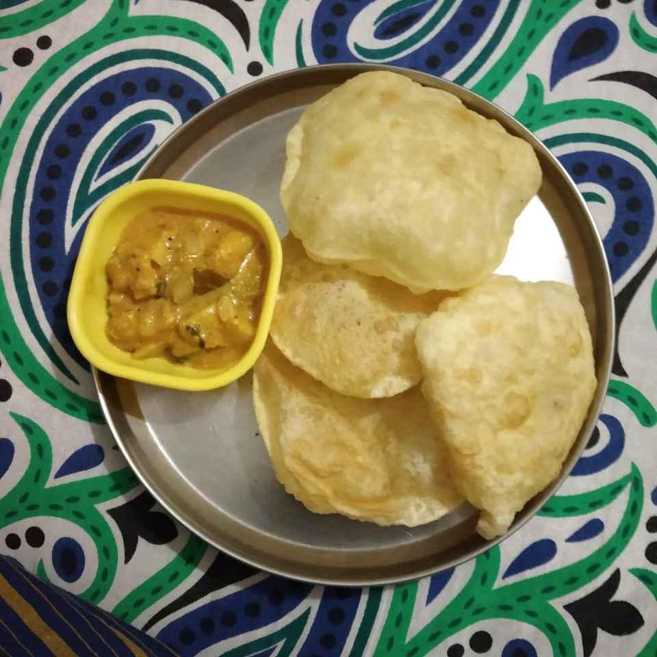 Photo of Poori by Sree Vaishnavi at BetterButter